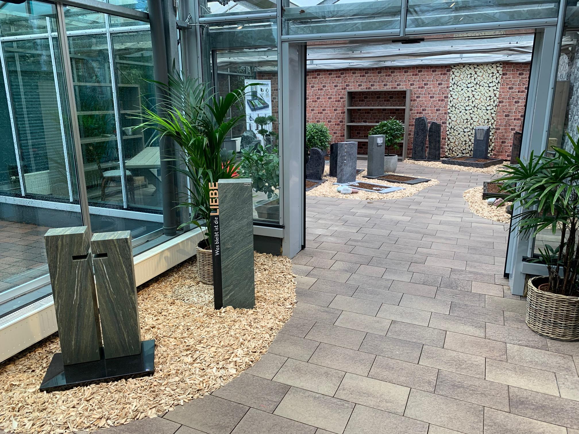 Steinmetz Ausstellung Mählen Gärtnerei